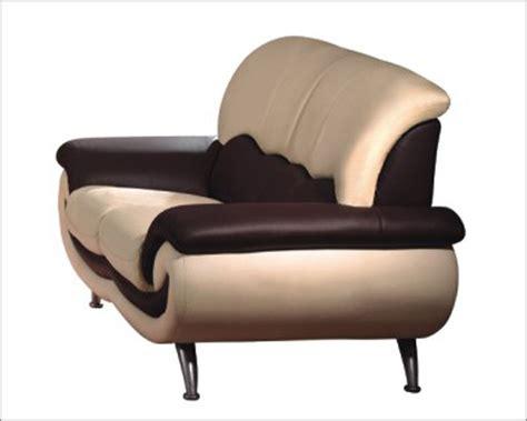 European Recliners by European Furniture Modern Two Tone Loveseat 33ss13
