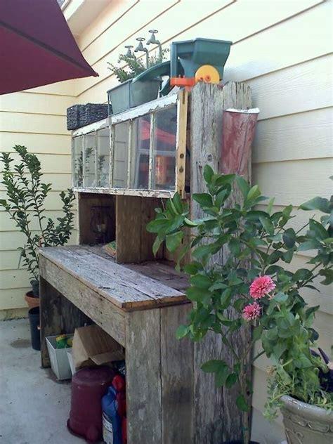 diy potting bench diy potting benches the garden glove