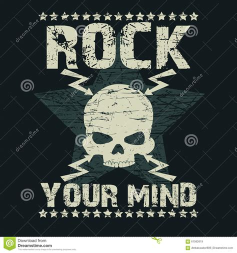 design t shirt rock vector rock t shirt typography stock vector image 61562619