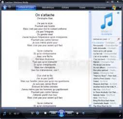 afficher les paroles des chansons lecteur windows media