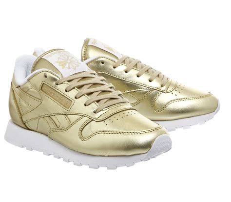 Reebok Classic Gold by Reebok Classic Leather Gold Us6 Eu36 Uk3 5 272843 From