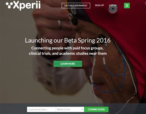 Paid Search Study Sign Up For Xperii Today And Participate In Paid Research Studies In New
