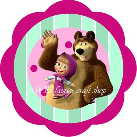 imagenes masha y el oso 121 best fiesta masha y el oso images on pinterest the