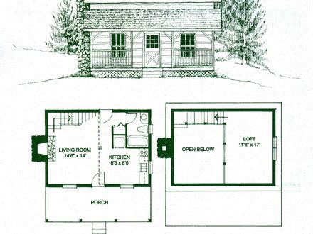 small cottage floor plans with loft log home floor plans with loft log cabin floor plans