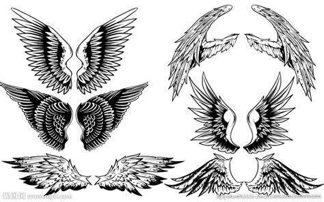 创意手绘翅膀设计矢量素材设计图 其他 生物世界 设计图库 昵图网nipic com