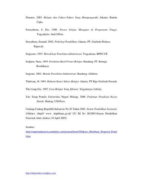 format proposal skripsi universitas negeri malang contoh proposal skripsi