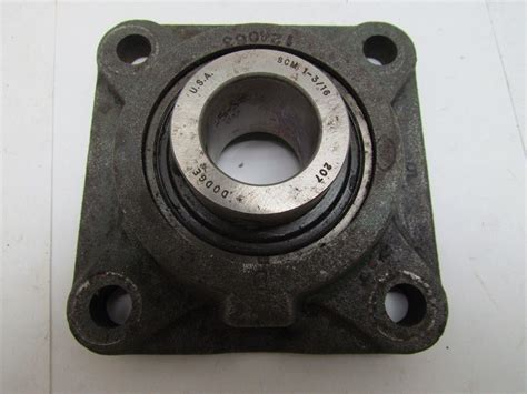 dodge 124063 4 bolt flange bearing scm 1 3 16 quot bore ebay