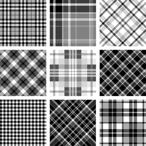 fabric js svg pattern plaid fabric patterns seamless vector 06 vectors free