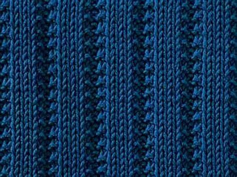 knit rib stitch an easy knitting stitch with narrow raised stockinette