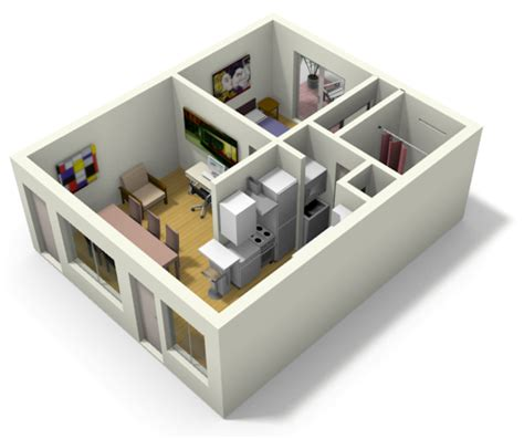 small house 3d plans small house plans under 500 sq ft 3d
