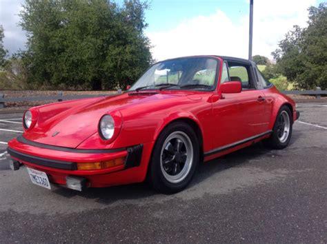Porsche 911 Sc 1981 by 1981 Porsche 911sc Targa California Car 81 911 Sc