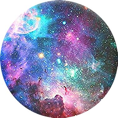 galaxy circle moon space rainbow aesthetic tumblr stars...