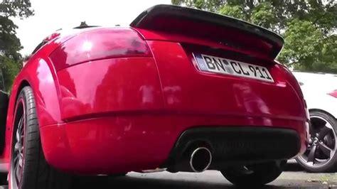 Audi Tt 8n Auspuff by Audi Tt 8n Mit Edel01 Abgasanlage Youtube