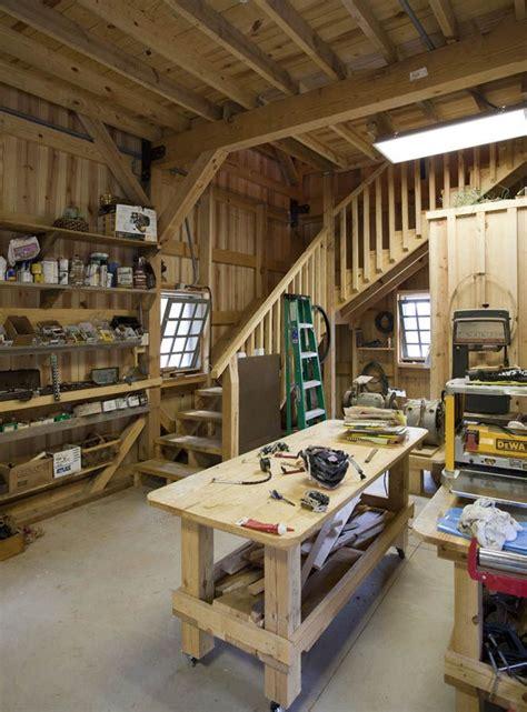 pin  robert thompson  barn workshop home workshop