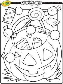 treats coloring page crayola