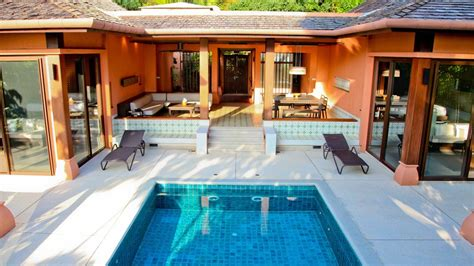 One Bedroom Pool Suite Sri Panwa 2br family suite garden sri panwa luxury hotel phuket