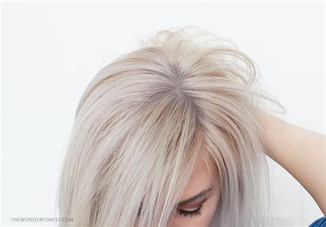 best purple toner for blonde hair brass banishing diy hair toner for blondes wonder forest