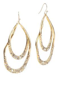 Imelda Marcos To Launch Bling Bling Accessories Line by Bittar Pave Vine Earring In Raspberry