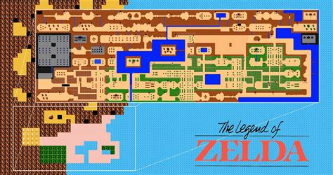 legend of zelda map quest 1 what are some facts about zelda that most gamers don t