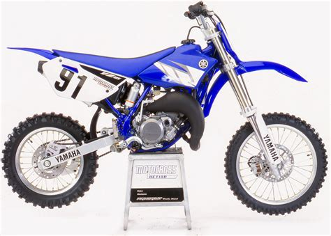 Yamaha Yz85 motocross magazine two stroke tuesday yamaha yz85