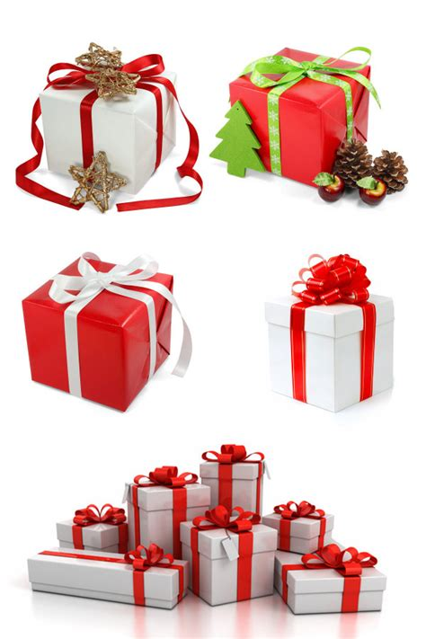 4 designer christmas gift boxes high definition picture