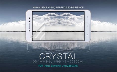 Anti Clear Bening Asus Zenfone Live Zb501kl 5 Inch Proscreen 905636 nillkin screen protector for asus zenfone live zb501kl 5 0 us 9 6 nillkin