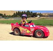 Tuner Dad Turns Sons Lightning McQueen Into Real Electric Runner
