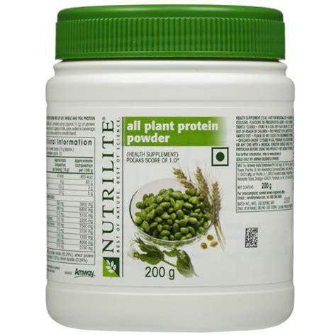 Nutrilite Protein Amway buy amway nutrilite all plant protein powder 200 gm sastasundar