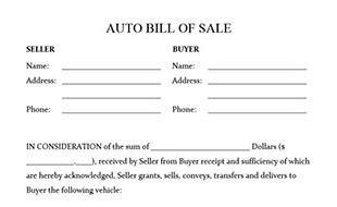 boat trailer bill of sale md bill of sale form