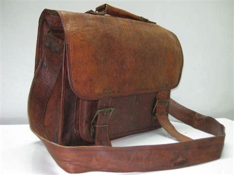 mens brown leather messenger bag mens leather messenger bag brown leather satchel genuineproducts on artfire