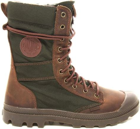 palladium tactical boots in multicolor brown lyst