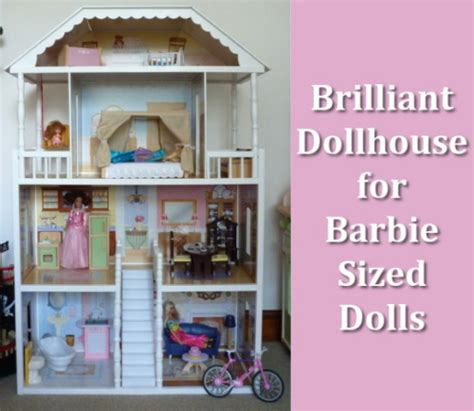 how to make a big barbie doll house large dollhouses for barbie size dolls
