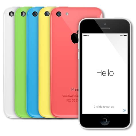 apple iphone 5c smartphone 16gb at t no contract ebay