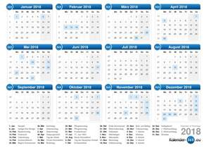 Kalendar 2018 Germany Kalender 2018