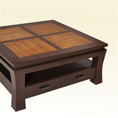 table basse bambou table de lit