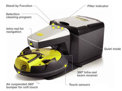 Robot Charger robocleaner base station self emptying robotic vacuum charger