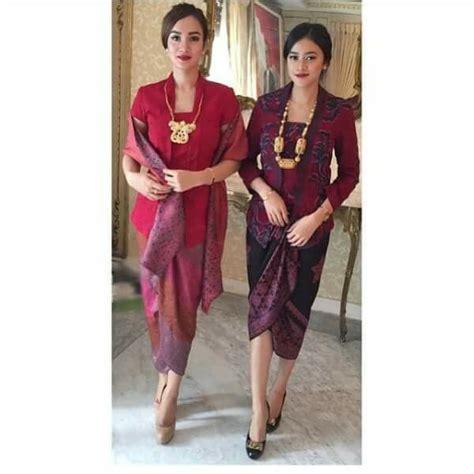 Blouse Ribbon Songket 297 best images about kebaya on lace batik