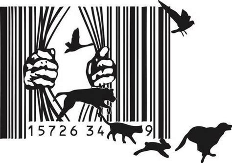 barcode animal tattoo until every cage is empty animal liberation pinterest