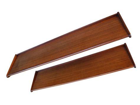 Teak Shelf by Mid Century Modern Teak Floating Shelves 1950s For