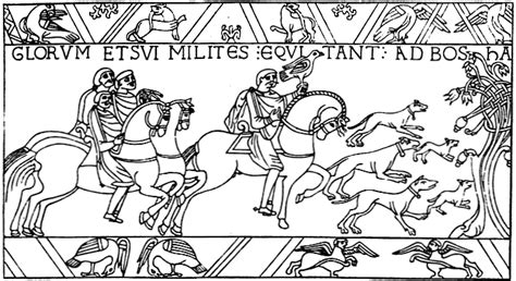 Free Coloring Pages Bayeux Tapestry Colouring Pages