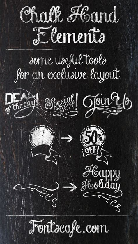 chalk lettering 101 an introduction to chalkboard lettering illustration design and more books quot chalk elements quot fonts cafe