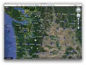 Washington State Map Google by Iris Data Services Nodes Dmc Manuals Google Earth Files
