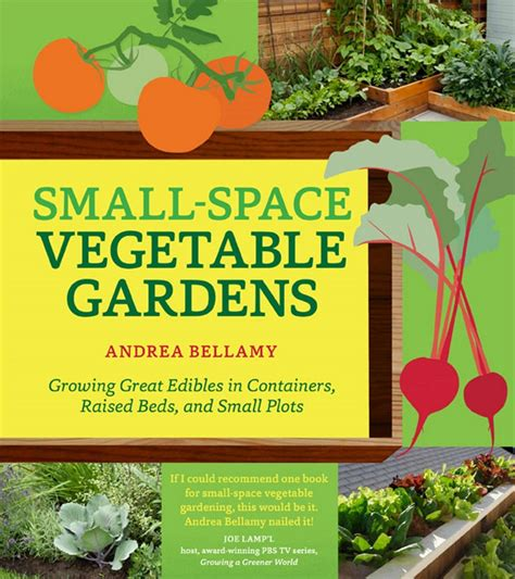 planting gardens in books small space vegetable gardens gardenbunch