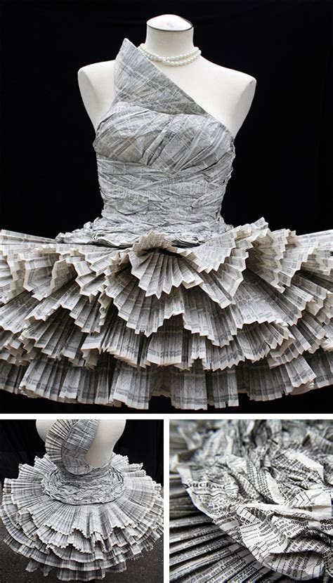 Paper Dresses - trashion fashion with ethics courtni vecchiarelli