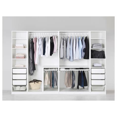 schrank ikea pax pax wardrobe white fardal high gloss white 300x60x201 cm