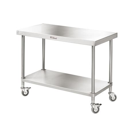 mobile work benches mobile work bench ss03 nomad stainless steel