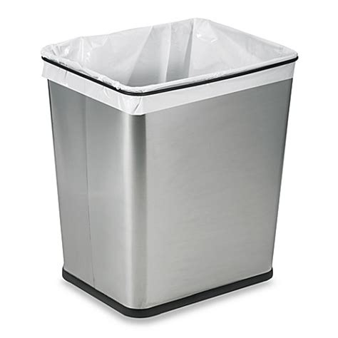under cabinet trash bins buy polder 174 under the counter 7 gallon recycle trash can