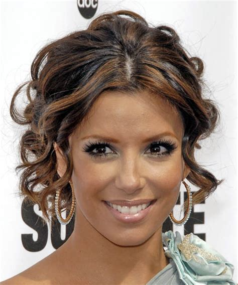 bridesmaid hairstyles curly show front and back view eva longoria hairstyles in 2018