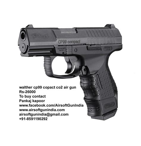 Airsoft Gun Walther Cp99 Walther Cp99 Compact Co2 Air Pistol In India Airsoft Gun India