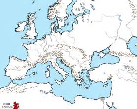 Blank Western Europe Map by Blank Map Of Europe During Reformation